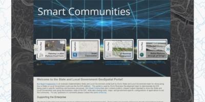 Feature image Esri Days 2018 - Smart Communities