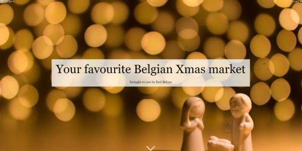 Feature image news Belgian Christmas markets