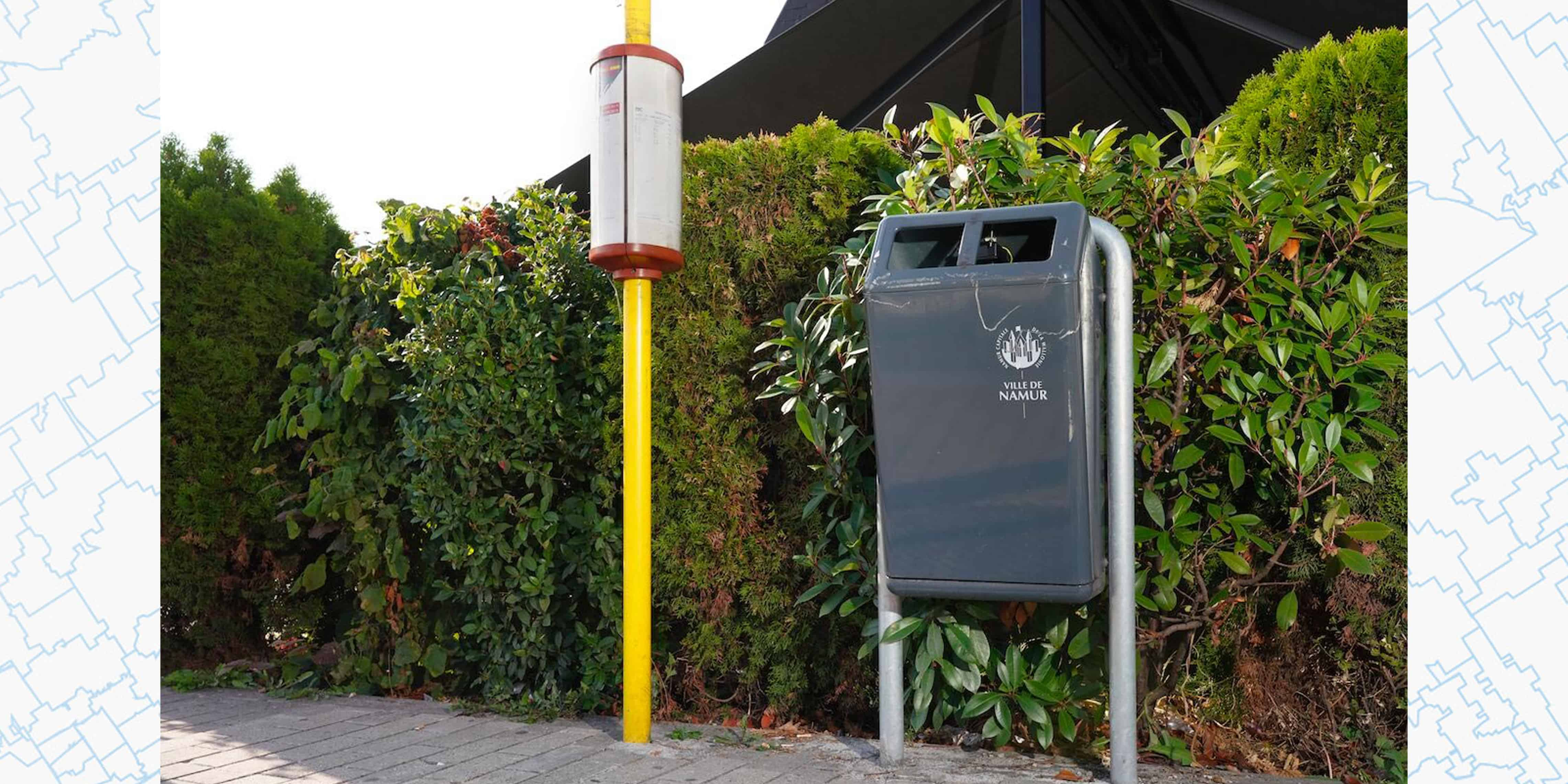 Feature image news connected garbage cans