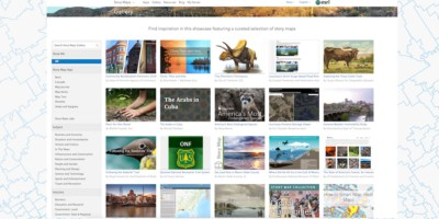 Feature image Story Maps