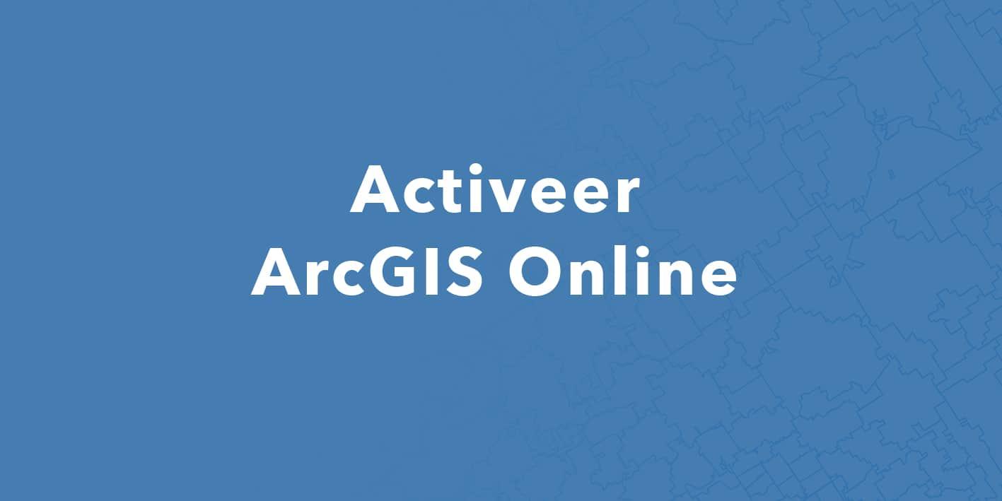 Activeer ArcGIS Online