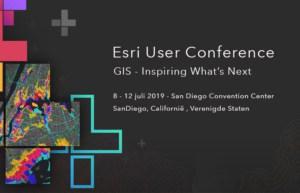 Event announcement Esri User Conference 2019 San Diego