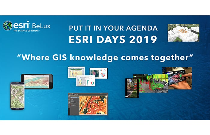 Event announcement Esri Days 2019