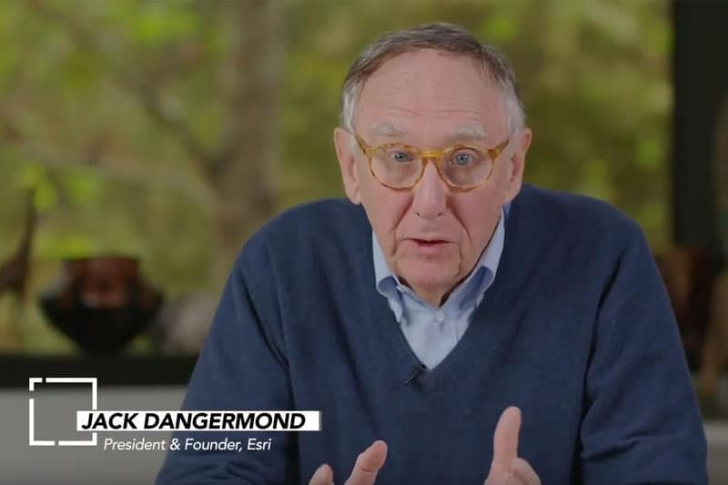 Happy GIS Day 2019 - Jack Dangermond