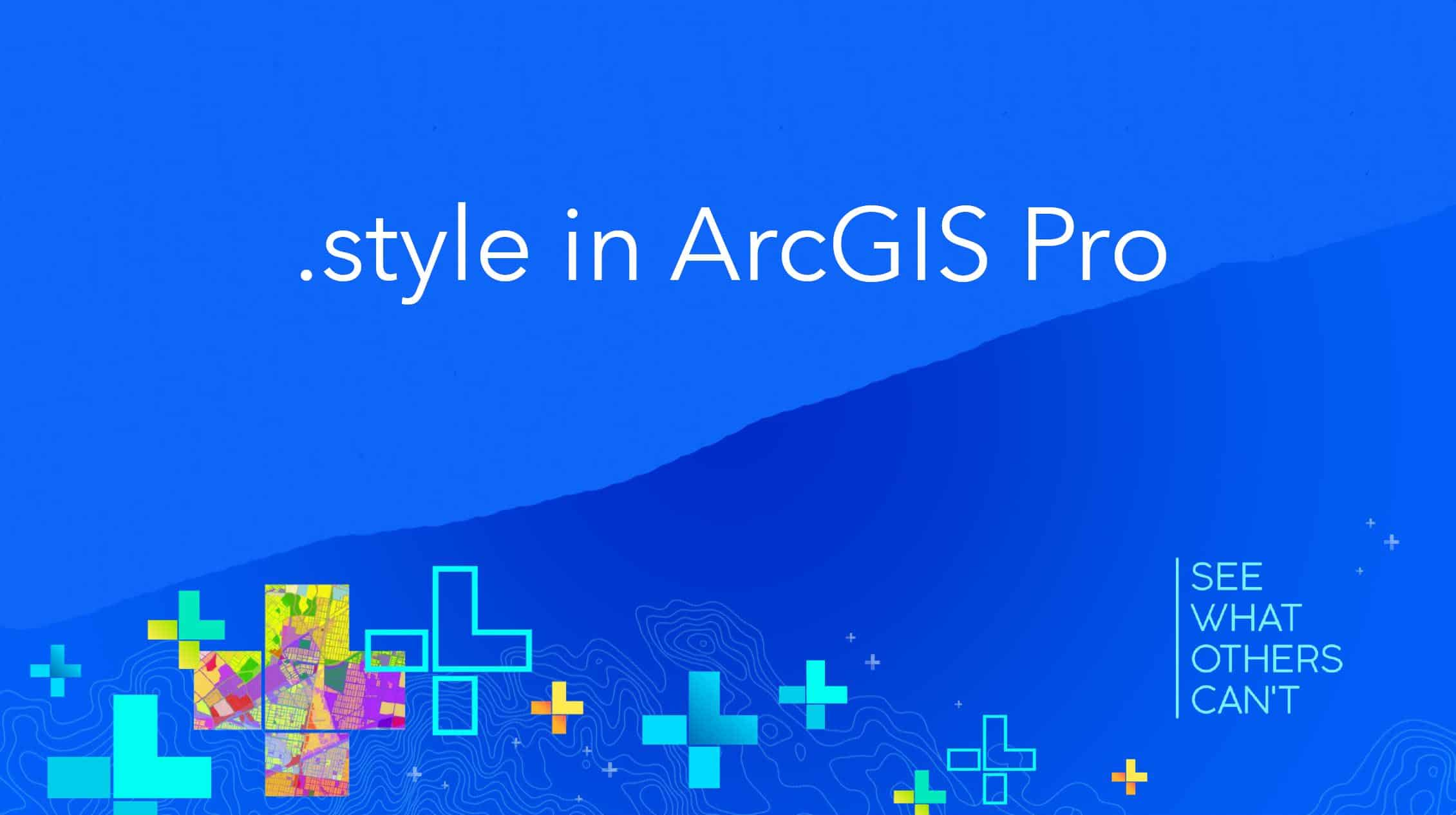 Featured image - style in ArcGIS Pro