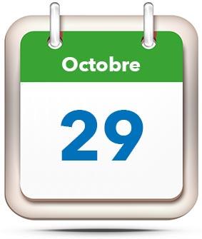 29 october