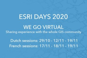 Featured image - Esri Days 2020 - we go virtual